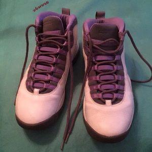 Shoes - Air Jordan's (purple)